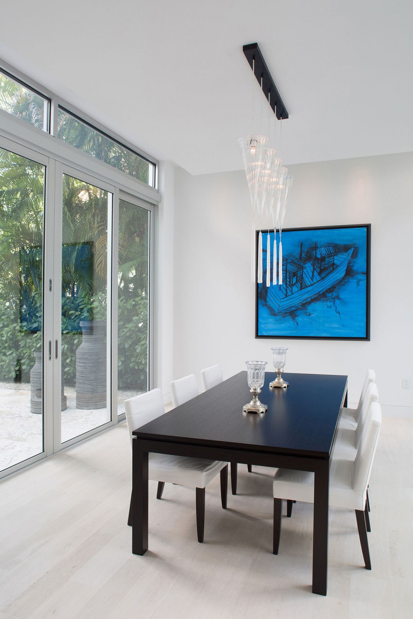 The most beautiful modern home in florida shoproomideas for Most beautiful dining rooms