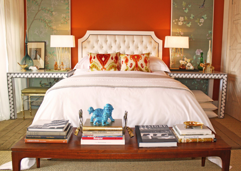orange bedroom walls decor interior design ideas decorating with orange 3 tips shop room ideas foo dogs houzz pinterest