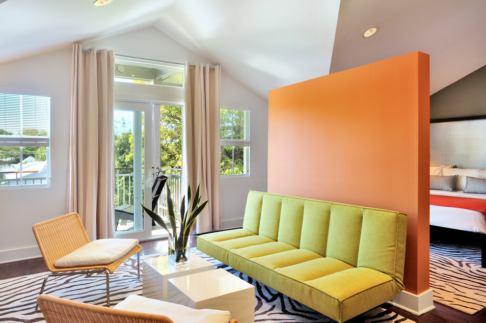 Orange Walls Decorating With 3 Tips Ideas Houzz Decor Shop Room Ideasmodern Design Home