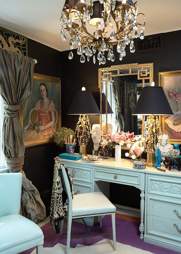 beautiful dressing table ideas makeup chair table luxury black walls paint bedroom black and white bedroom shop room ideas houzz pinterest