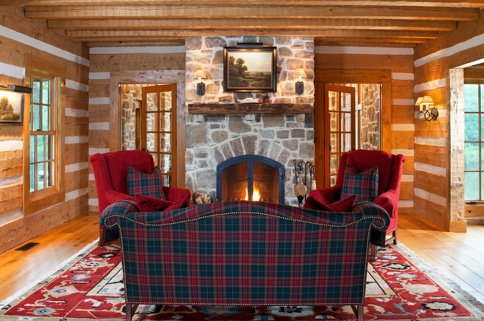 how to decorate with plaid design ideas plaid furniture fabric studded sofa diy fireplace layout mountain lodge ski cottage dream vacation home christmas decor fall design shop room ideas