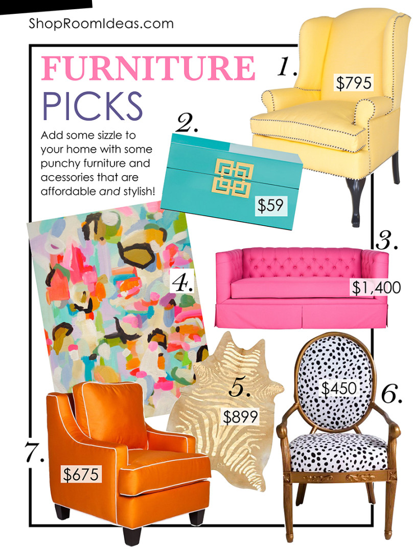 Weekly Furniture Picks Color Is In For Winter shoproomideas : weekly furniture pics colorful room furniture decor ideas inspiration pink couch yellow sofa zebra gold carpet pnterest home design idea shop room ideas1 810x1080 from shoproomideas.com size 810 x 1080 jpeg 274kB