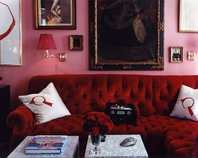Red Room Wall Decor : Cool ways to hang artwork in your home roomideas