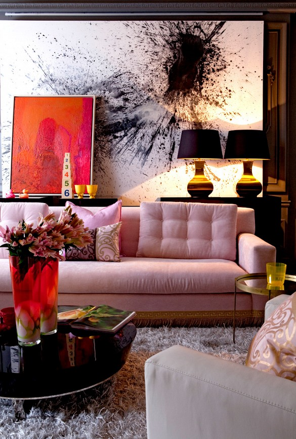 3 cool ways to hang artwork in your home shoproomideas for Art work for living room