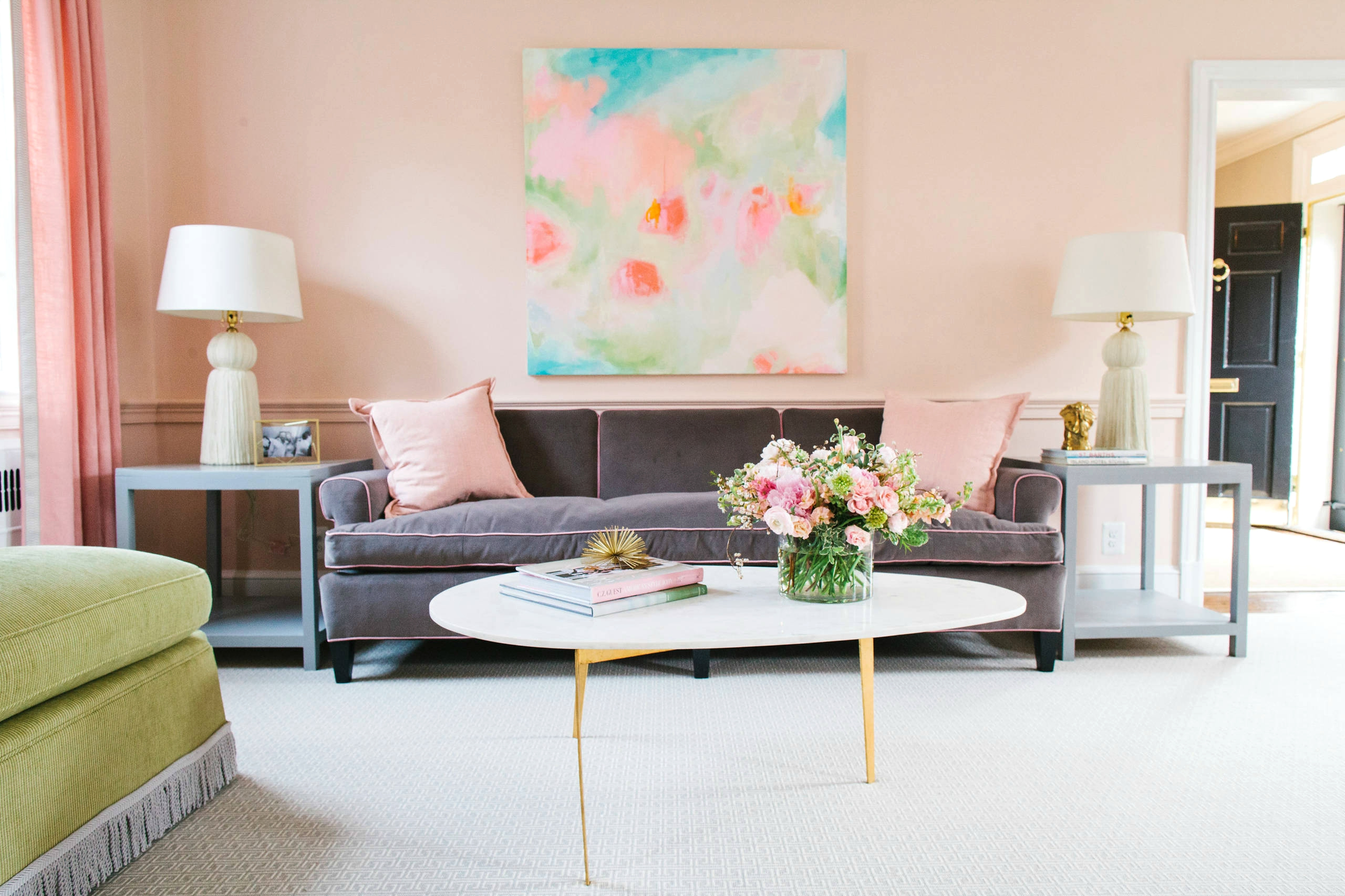 5 stunning pastel rooms - decorating with pantone 2016 color