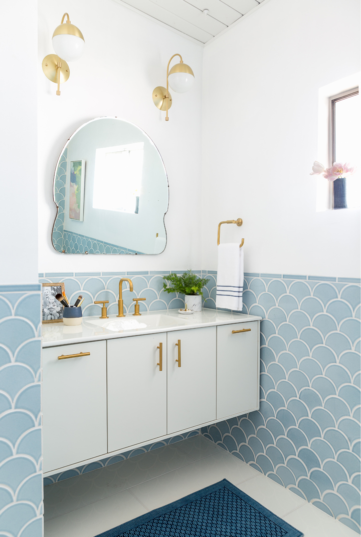How to keep your bathroom looking new forever shoproomideas for Baby blue bathroom ideas