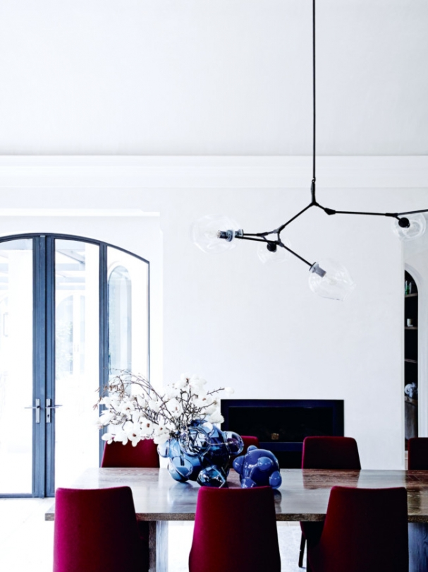 table setting ideas red blue arched windows doors georgian home mansion inspiration