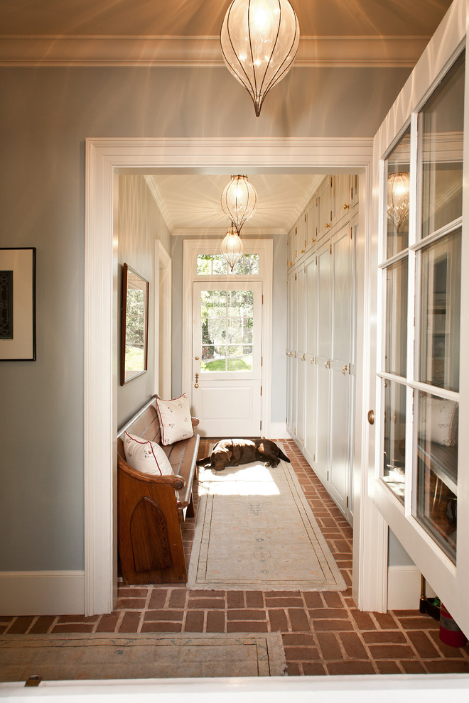 5 ways to decorate a narrow hallway shoproomideas for Entrance flooring ideas