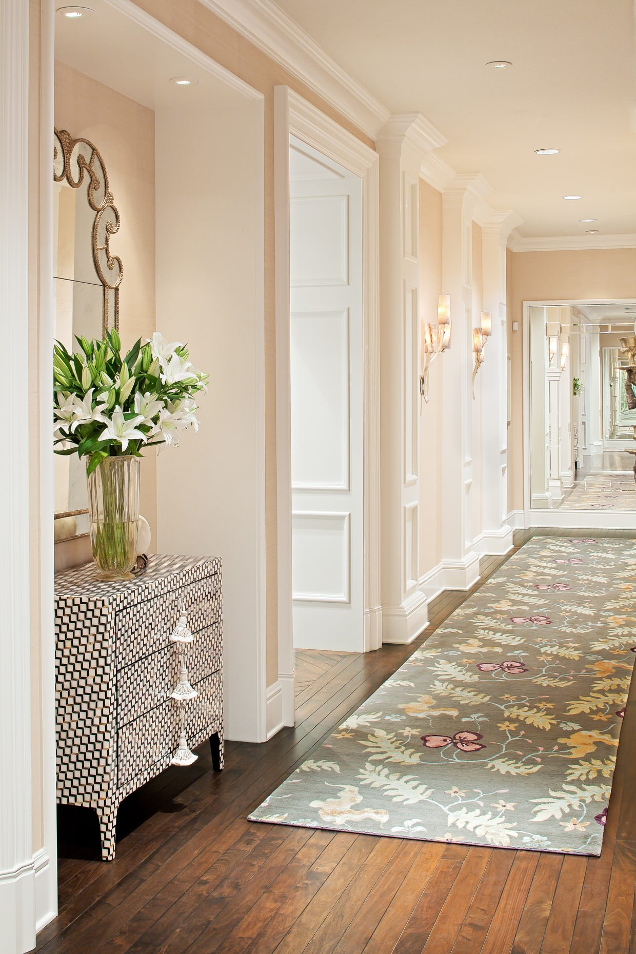 Jamie Foyers Traditional : Ways to decorate a narrow hallway shoproomideas