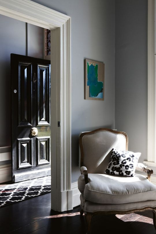 how-to-decorate-narrow-hallway-entryway-black-front-door-ideas-inspiration-gray-grey-living-room-dining-room-victorian-decor-design-interiors-home-moulding