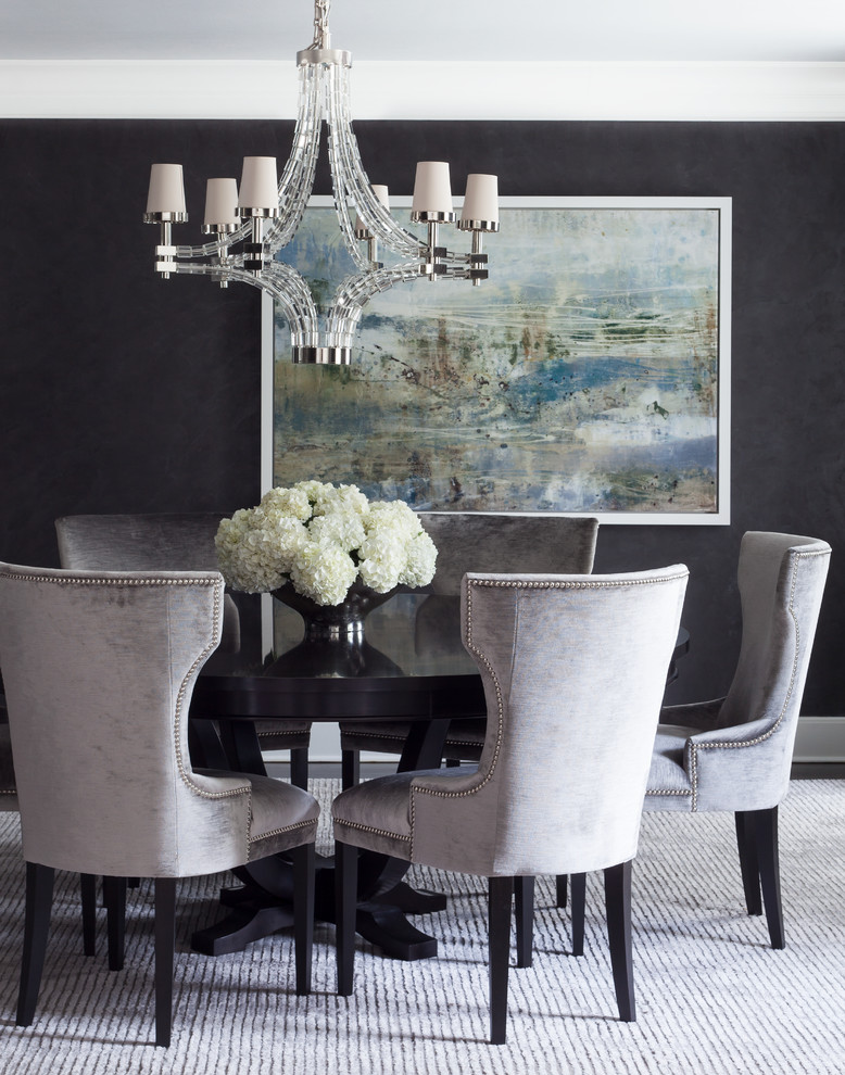 How to 5 secrets to choosing the best quality furniture for Dark grey dining room