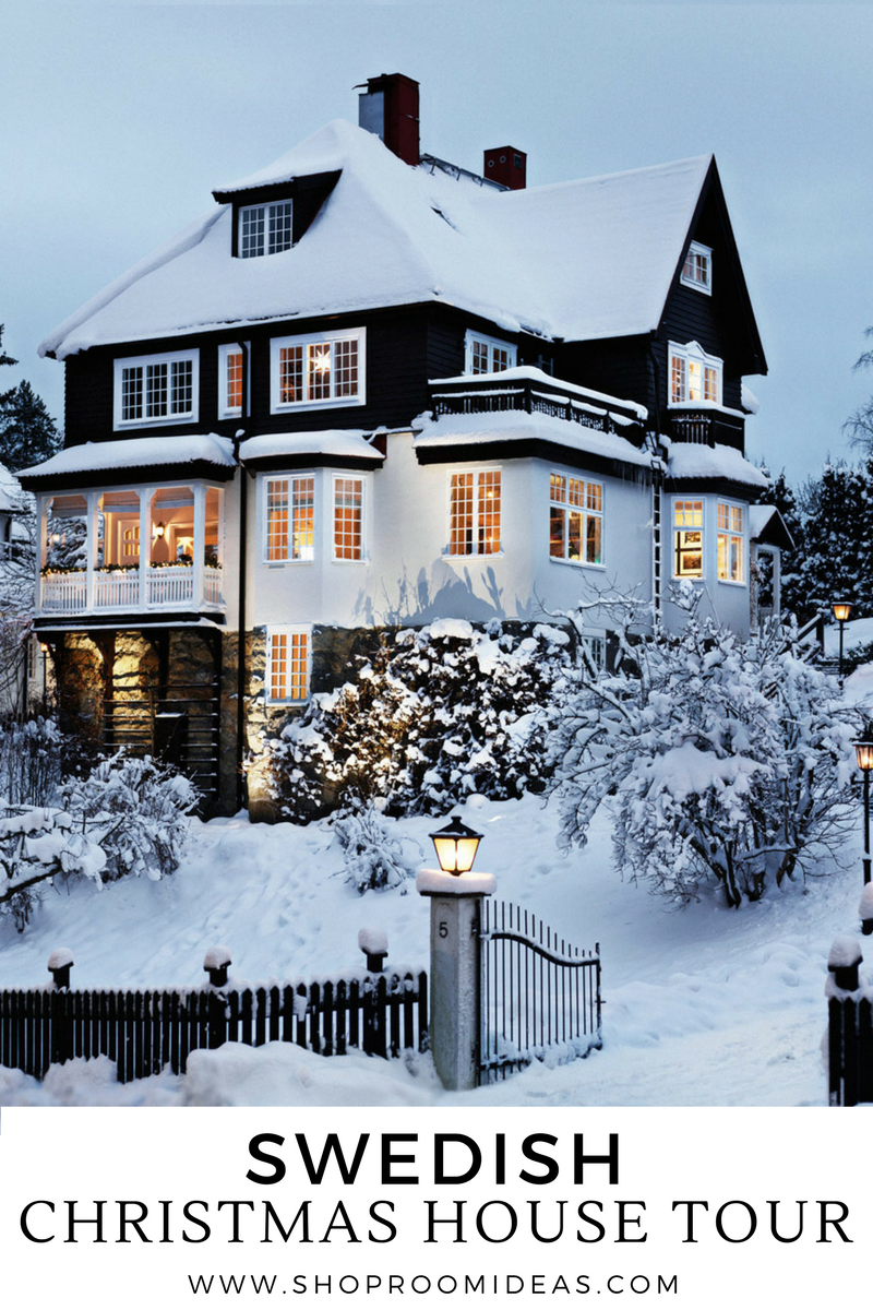 Swedish christmas house tour turn of the century for Swedish design shop