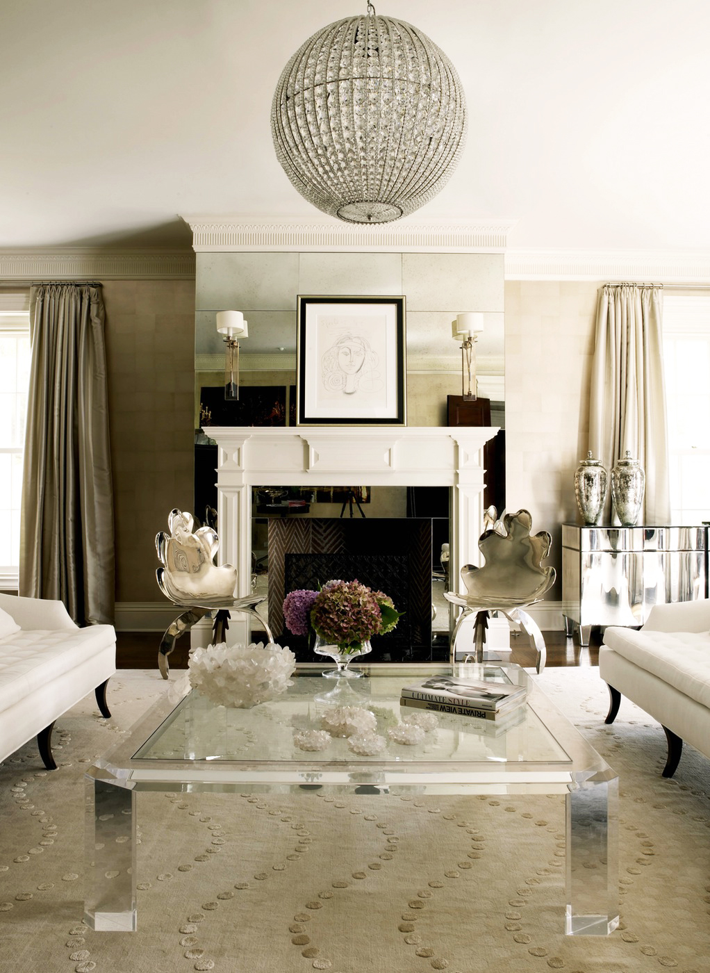 Impeccable style get the designer look in your home with for Living room decor