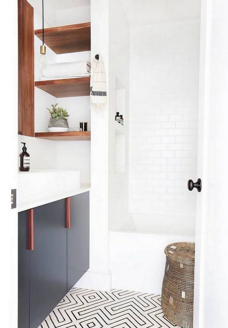how to small bathroom renovation before and after photos apartment powder room decorating ideas greek key tiles