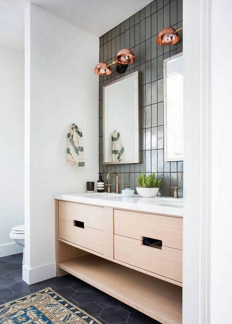 8 Mind Blowing Small Bathroom Makeovers Before and After Photos