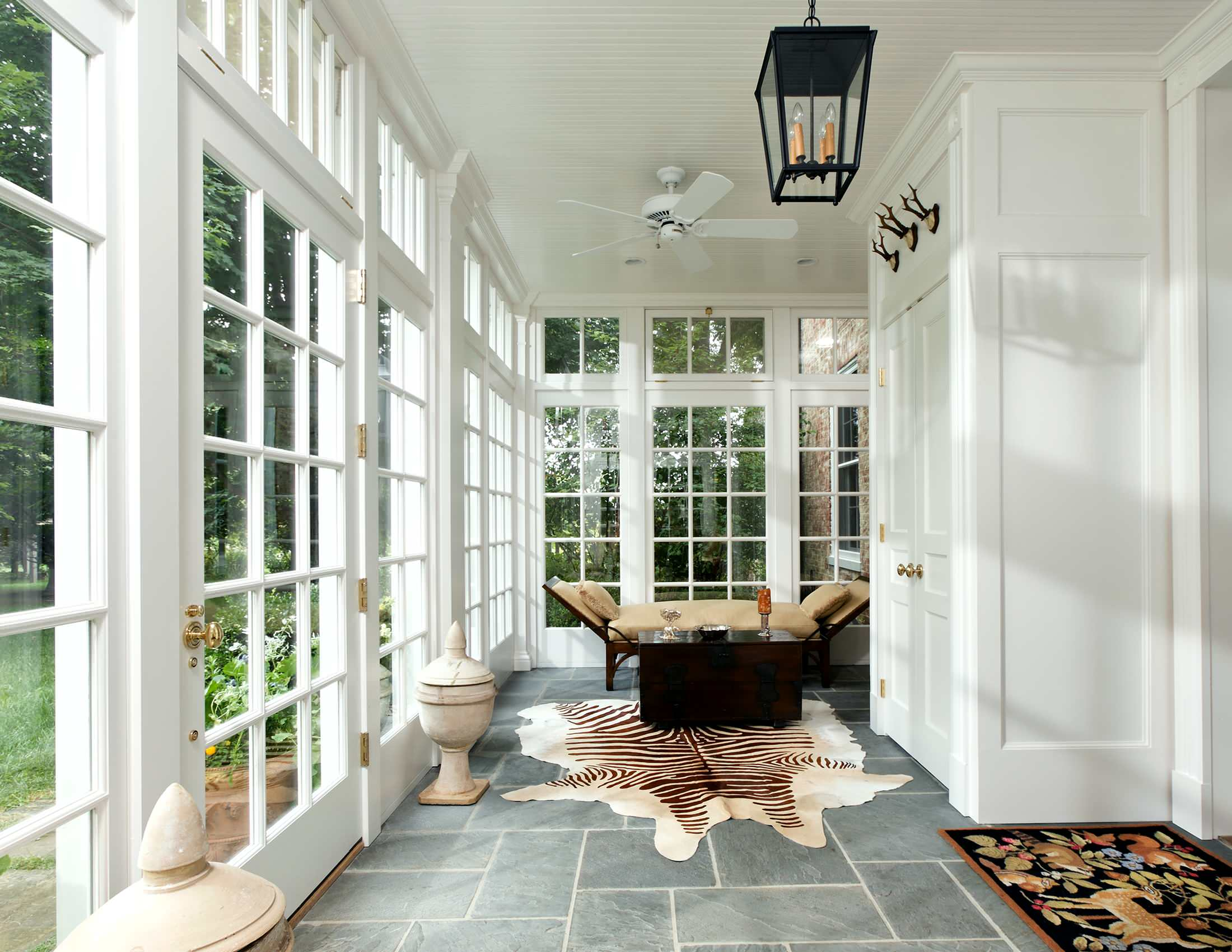 slate flooring tile sunroom traditional georgian mansion style decor interior underfloor heating for outdoor indoor spaces shop room ideas