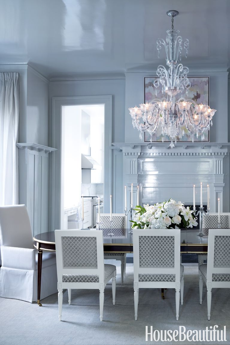 how to make your house look good in photos selling your home blue dining room ideas glam chandelier oval dining table