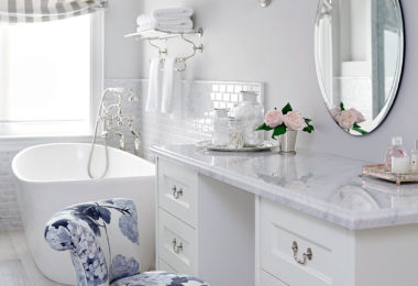 mirrored furniture room ideas. All White Glam Eclectic Glamorous Bathroom Makeup Vanity Decor Ideas Storage Brushes Round Mirror Claw Mirrored Furniture Room