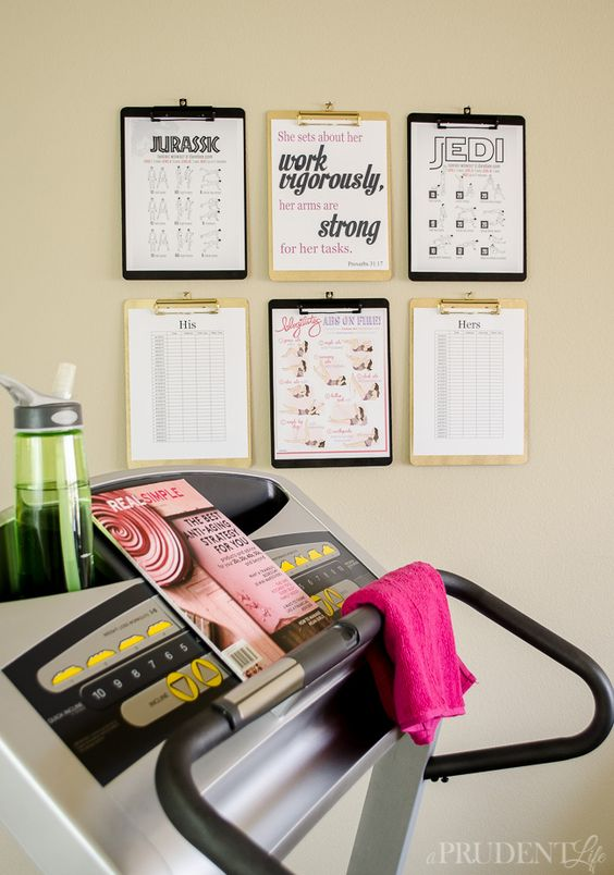 Motivation Tip: Decor For Your At Home Gym - shoproomideas