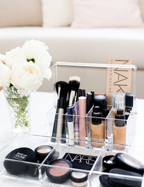 makeup organization drawer divider ideas diy acrylic plastic storage case