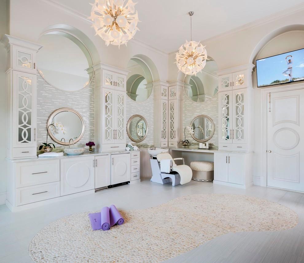 yoga studio traditional bathroom home gym idea decor inspiration design shop room ideas
