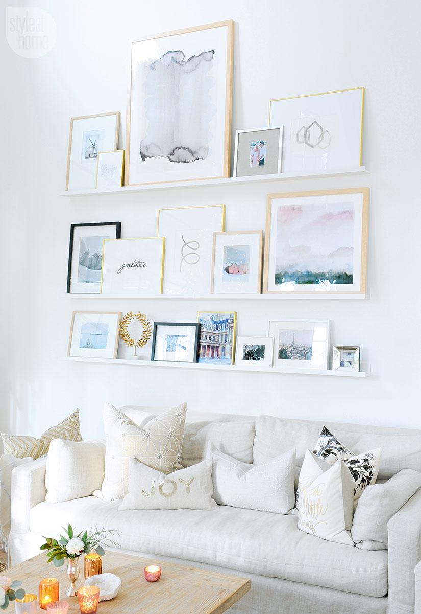 printable wall art gallery wall ideas picture frames shelves shelving hacks ikea frames feminine girly decor living room wall design decor inspiration