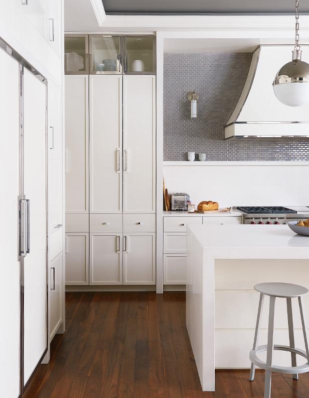 2018 Kitchen Trends Ideas All White Modern Kitchen Laminate Hardwood