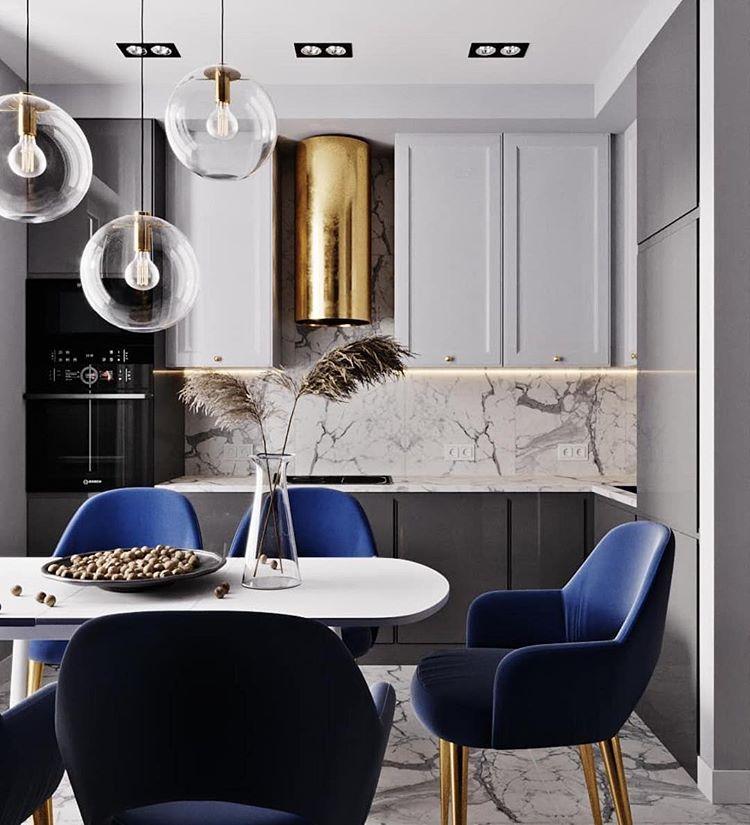 black and grey gray small condo apartment style design idea kitchen shop room ideas backsplash