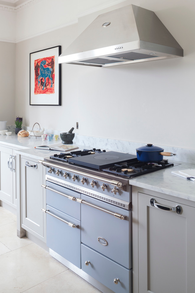 contemporary-kitchen blue stove range cooker different types best