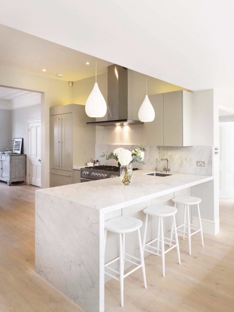 contemporary-kitchen marble backsplash kitchen cabinets all white farmhouse modern glam island different types of range cookers the best range cooker